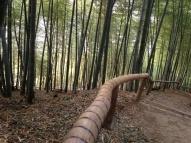 bambusrekkverk