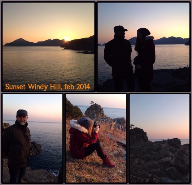 Tur i solnedgangen