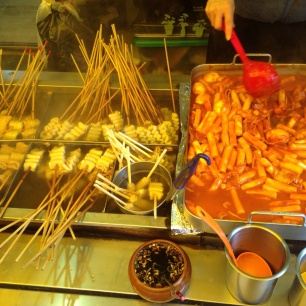 Koreansk street food