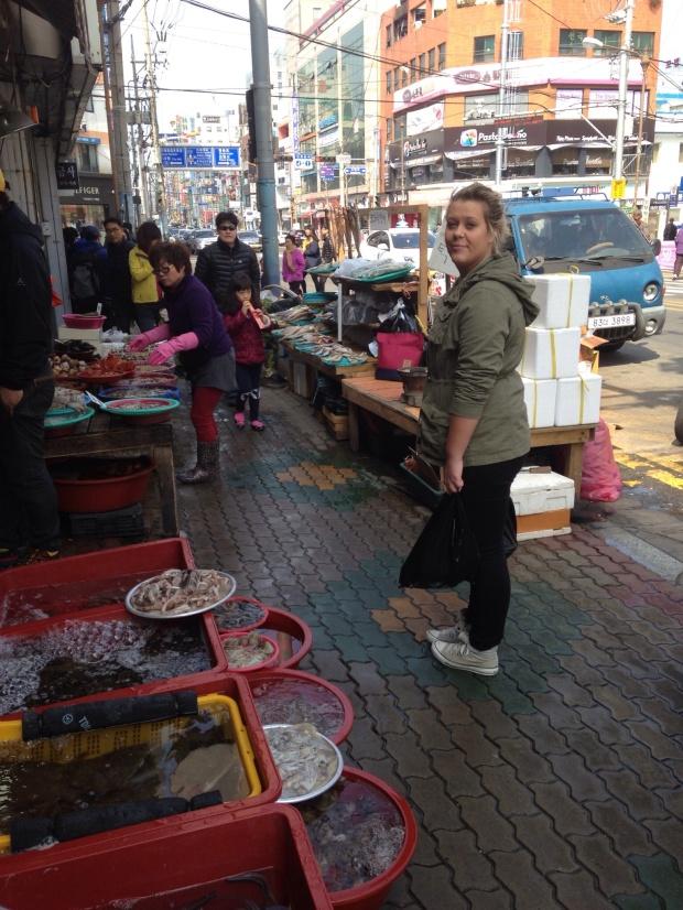 Vanja på marked i Gohyeon