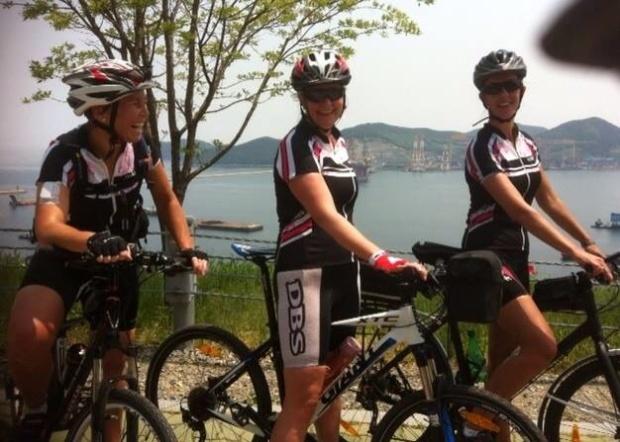glade sykkeldamer