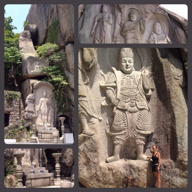 buddha relieff tempel
