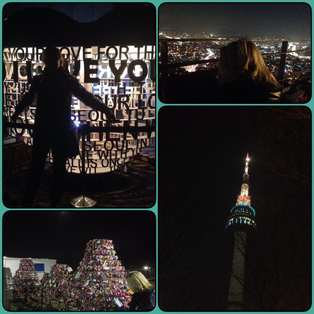 Randi i Seoul N Tower